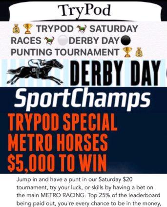 TRYPOD SPORTCHAMPS $5000 TOURNAMENT!