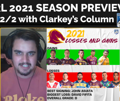 🏉💰 NRL 2021 SEASON PREVIEW – Part 2 💰🏉