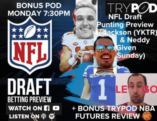 🚨 SPECIAL US SPORTS EPISODE 🏉 NFL DRAFT + NBA Futures 🏀